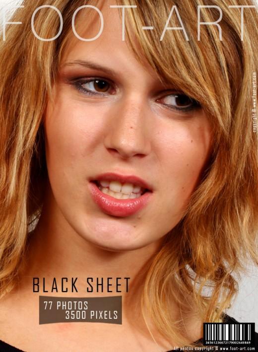 Rory - `Black Sheet` - for FOOT-ART