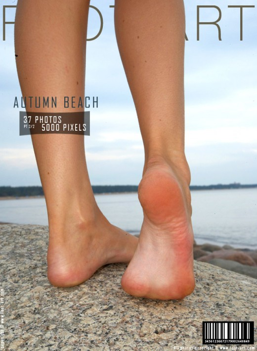 Maria G - `Autumn Beach - Part 2` - for FOOT-ART