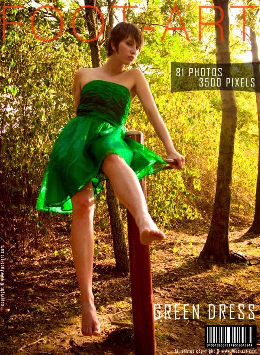 Vila - `Green Dress` - for FOOT-ART
