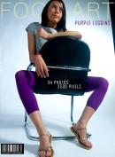Purple Leggins