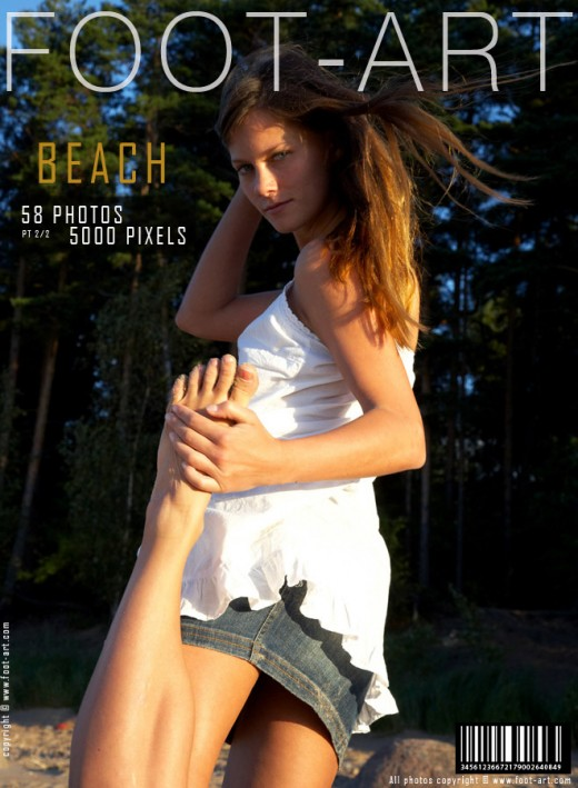 Eva - `Beach - Part 2` - for FOOT-ART