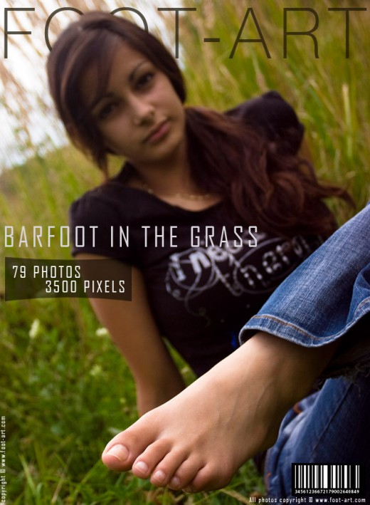 Grassie - `Barefoot In The Grass` - for FOOT-ART