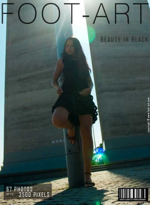 Oy - `Beauty In Black - Part 1` - for FOOT-ART