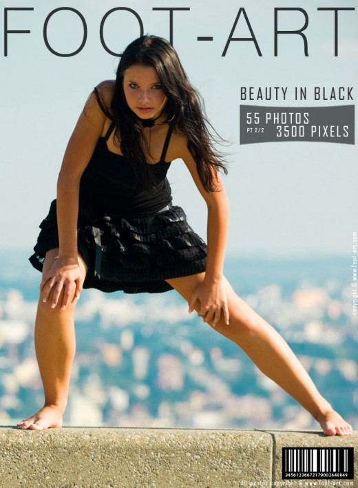 Oy - `Beauty In Black -Part 2` - for FOOT-ART
