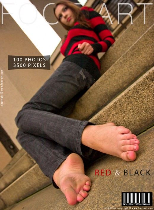 Gian - `Red & Black` - for FOOT-ART