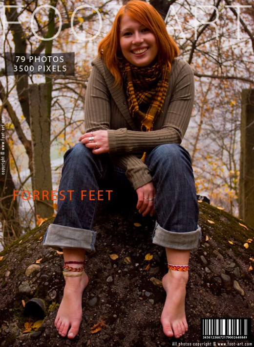 Lenita - `Forrest Feet` - for FOOT-ART