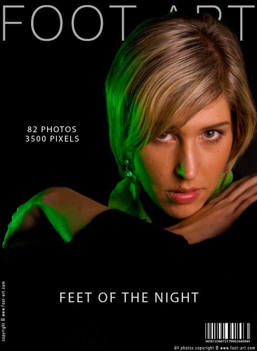 Danica - `Feet Of The Night` - for FOOT-ART