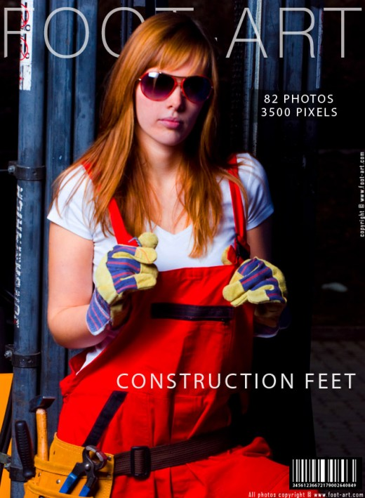 Cody - `Construction Feet` - for FOOT-ART