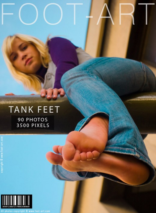 Donna - `Tank Feet` - for FOOT-ART