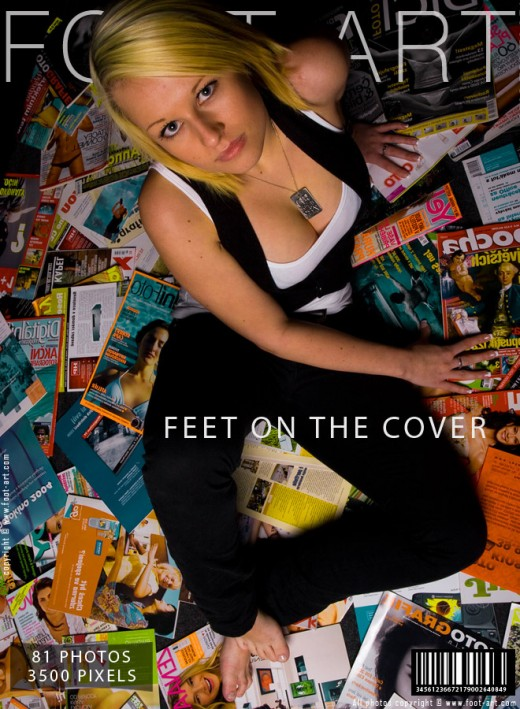 Fay - `Feet On The Cover` - for FOOT-ART