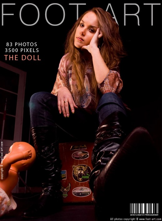 Hannah - `The Doll` - for FOOT-ART
