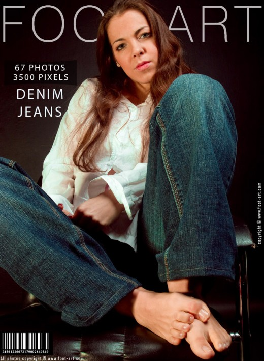 Michelle - `Denim Jeans` - for FOOT-ART