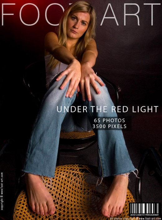 Jean - `Under The Red Light` - for FOOT-ART