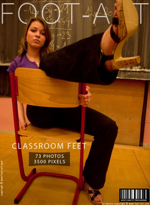 Tennie - `Classroom Feet` - for FOOT-ART