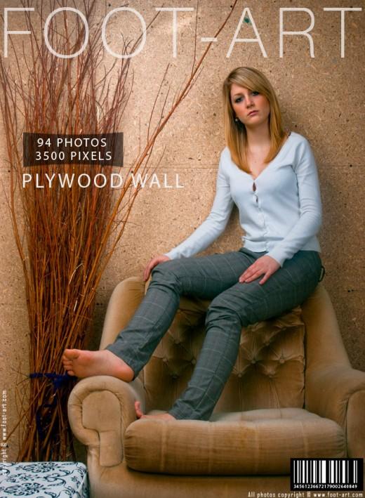 Petra J - `Plywood Wall` - for FOOT-ART