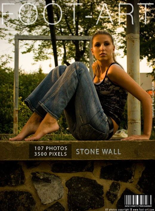 Lana - `Stone Wall` - for FOOT-ART