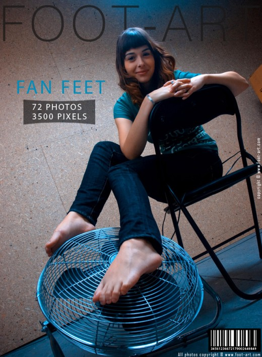 Ida - `Fan Feet` - for FOOT-ART