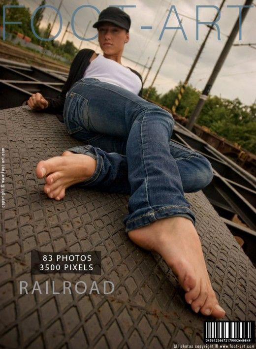 Eva K - `Railroad` - for FOOT-ART