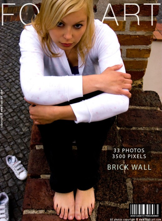 Livia - `Brick Wall` - for FOOT-ART