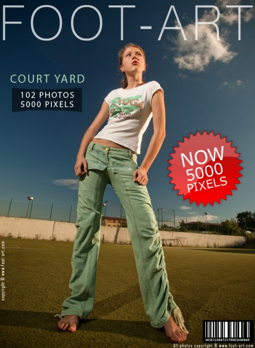 Aly - `Court Yard` - for FOOT-ART