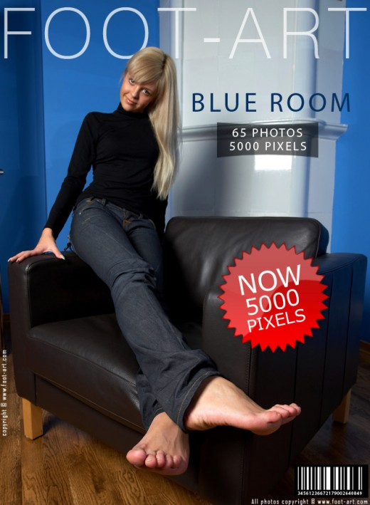 Katya - `Blue Room` - for FOOT-ART