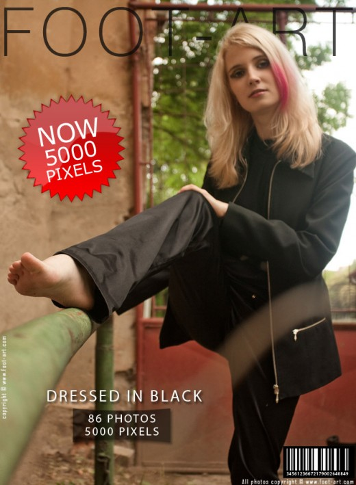 Maya - `Dressed In Black` - for FOOT-ART