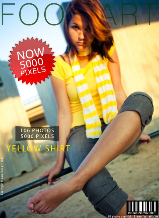 Britt - `Yellow Shirt` - for FOOT-ART