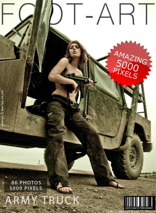 Rory - `Army Truck` - for FOOT-ART