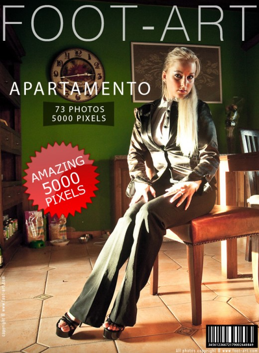 Lena in Apartamento gallery from FOOT-ART