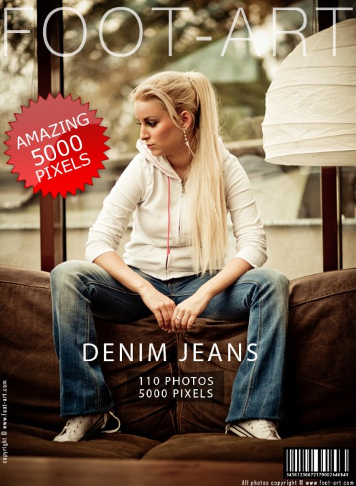 Lena - `Denim Jeans` - for FOOT-ART