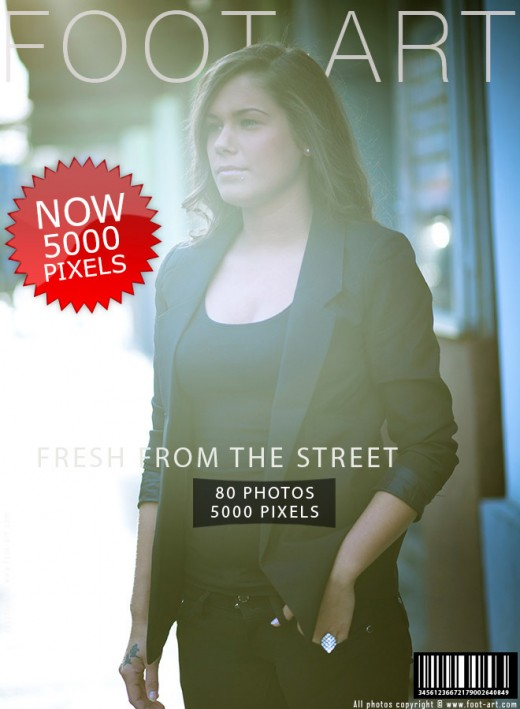 Dana - `#155 - Fresh From The Street` - for FOOT-ART