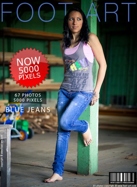 Janna - `#157 - Blue Jeans` - for FOOT-ART
