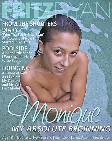 Monique - `My Absolute Beginning` - by Fritz Ryan for FRITZRYAN