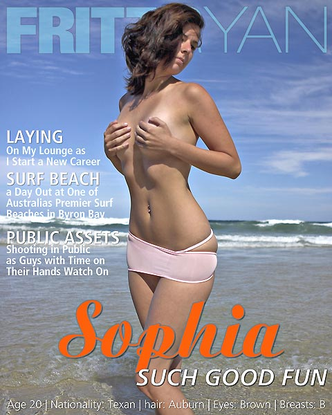 Sophia - `Such Good Fun` - by Fritz Ryan for FRITZRYAN