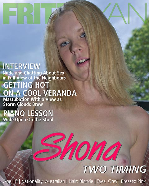 Shona - `Two Timing` - by Fritz Ryan for FRITZRYAN