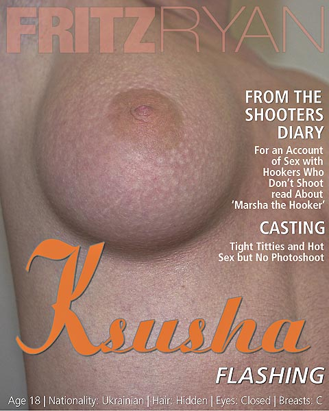 Ksusha - `Flashing` - by Fritz Ryan for FRITZRYAN