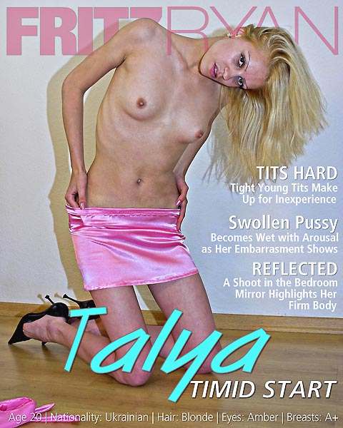 Talya - `Timid Start` - by Fritz Ryan for FRITZRYAN
