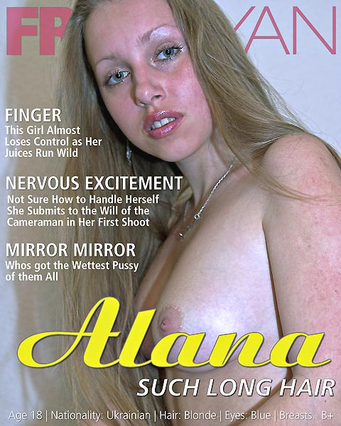 Alana - `Such Long Hair` - by Fritz Ryan for FRITZRYAN