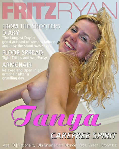 Tanya - `Carefree Spirit` - by Fritz Ryan for FRITZRYAN