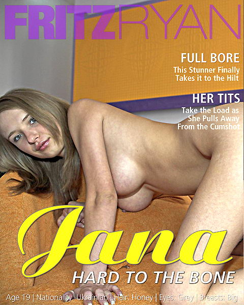 Jana - `Hard To The Bone` - by Fritz Ryan for FRITZRYAN