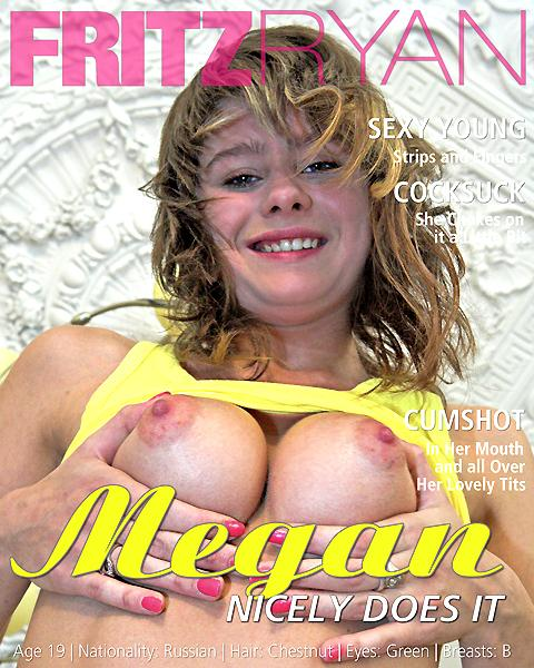 Megan - `Nicely Does It!` - by Fritz Ryan for FRITZRYAN