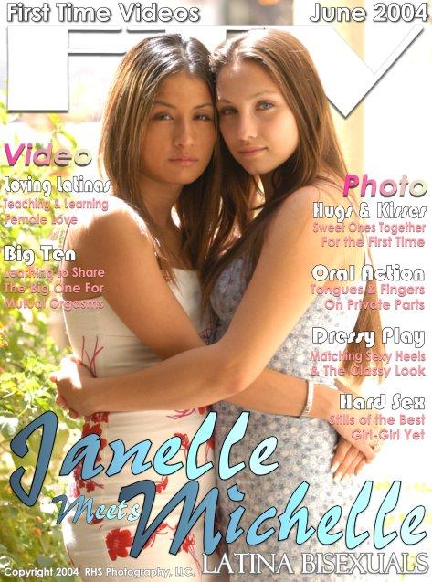 Janelle & Michelle - `LATINA BISEXUALS` - for FTVGIRLS