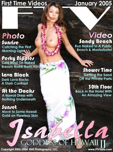 Isabella - `Goddess Of Hawaii II` - for FTVGIRLS