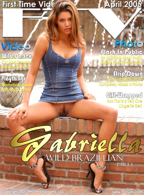 Gabriella - `Wild Brazilian I` - for FTVGIRLS