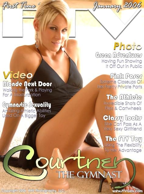 Courtney - `The Gymnast` - for FTVGIRLS