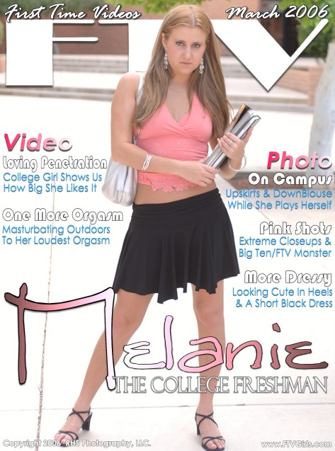Melanie - `The College Freshman` - for FTVGIRLS