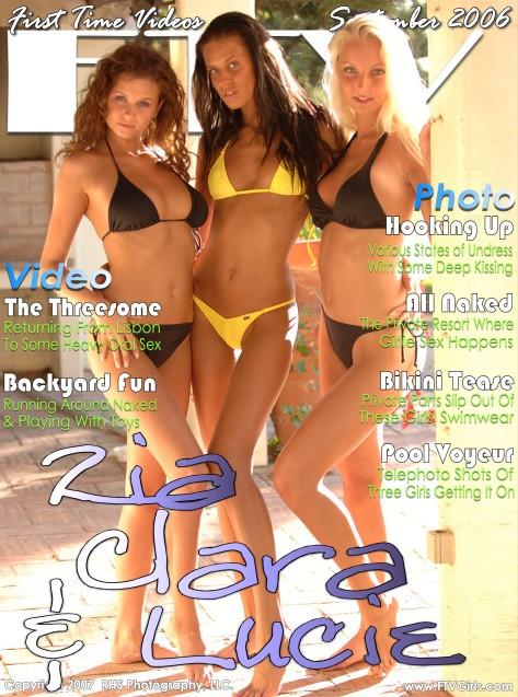 Zia, Clara & Lucie - `Zia, Clara & Lucie` - for FTVGIRLS