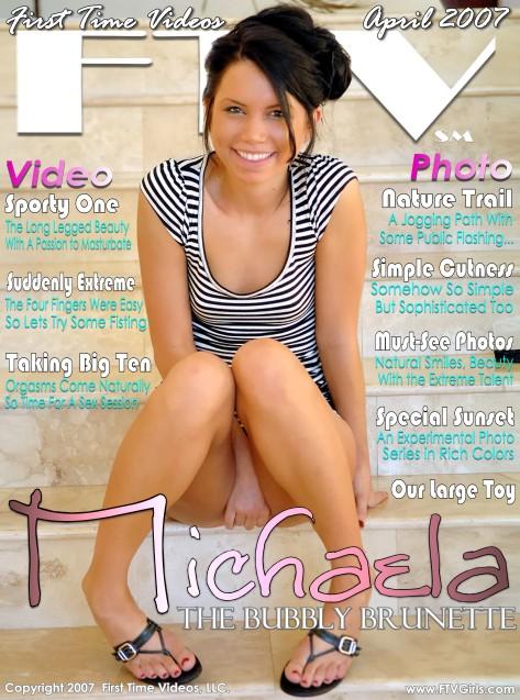 Michaela - `The Bubbly Brunette` - for FTVGIRLS