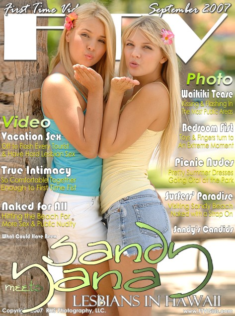 Sandy & Yana - `Lesbians In Hawaii` - for FTVGIRLS