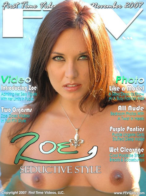 Zoe - `Seductive Style` - for FTVGIRLS